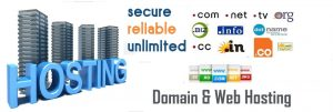 web-hosting and domain names