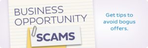 opportunity or scam