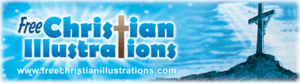 Free Cristian Illustrations footer